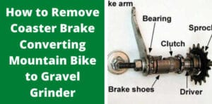 How to Remove Coaster Brake Converting Mountain Bike to Gravel Grinder