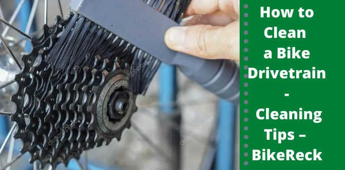 How to Clean a Bike Drivetrain - Cleaning Tips – Bicycling