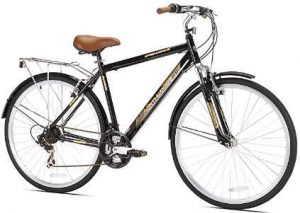 Northwoods Springdale Men's 21-Speed Hybrid Bicycle - best hybrid bike under 300