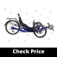 Best For Tough Terrain: Performer Trike-X 27 Speed Recumbent Trike
