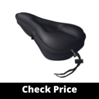Zacro Gel Bike Seat CoverExtra Soft Gel Bicycle Seat