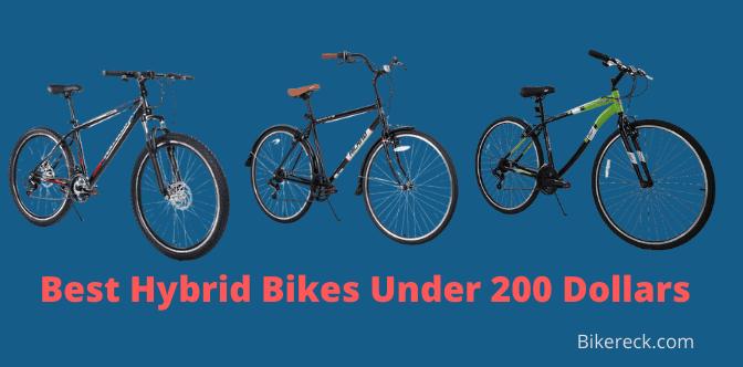 Best Hybrid Bikes Under 200 Dollars